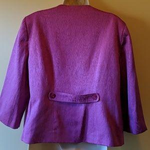 Alfred Dunner Jackets & Coats - Alfred Dunner open blazer jacket